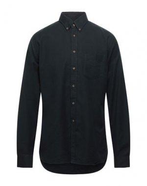 Pубашка CELLINI. Цвет: темно-зеленый