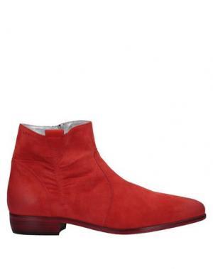 Полусапоги и высокие ботинки ALEXANDER HOTTO. Цвет: коралловый