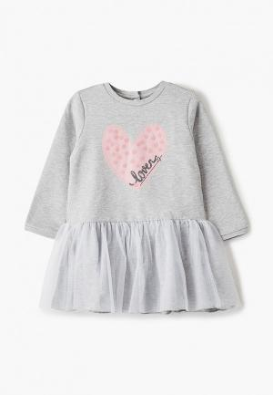 Платье Chicco. Цвет: серый