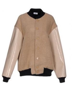 Куртка AU JOUR LE. Цвет: бежевый