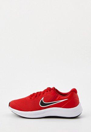 Кроссовки Nike STAR RUNNER 3 (GS). Цвет: красный