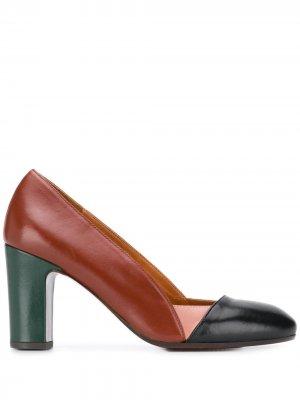 Туфли-лодочки Wantil со вставками Chie Mihara. Цвет: черный