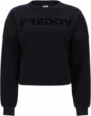 Свитшот женский , размер 42-44 Freddy. Цвет: черный
