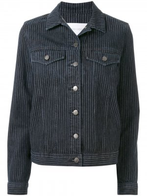 Джинсовая куртка Franklin Nobody Denim. Цвет: синий