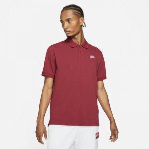 Мужская рубашка-поло Sportswear - Красный Nike
