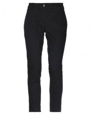 Повседневные брюки HENRY COTTON'S. Цвет: черный