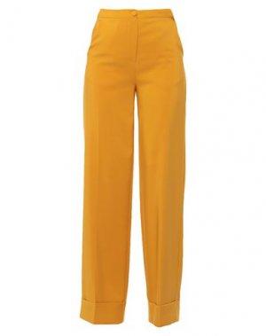 Повседневные брюки B.YU. Цвет: желтый