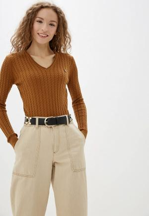 Пуловер Jimmy Sanders. Цвет: коричневый