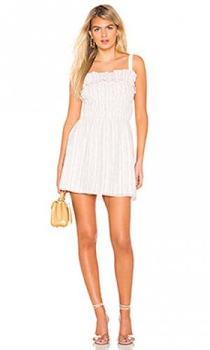Платье ellie Tularosa. Цвет: белый