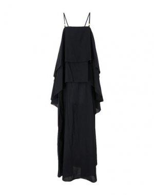 Длинное платье L' AUTRE CHOSE. Цвет: черный