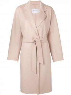 Пальто Rapallo с поясом Max Mara. Цвет: нейтральные цвета