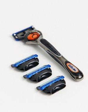 Набор из бритвы Fusion ProGlide и 4 сменных лезвий-Бесцветный Gillette