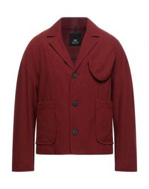 Пиджак TOM REBL. Цвет: кирпично-красный