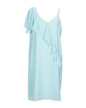 Платье до колена FLY GIRL. Цвет: светло-зеленый