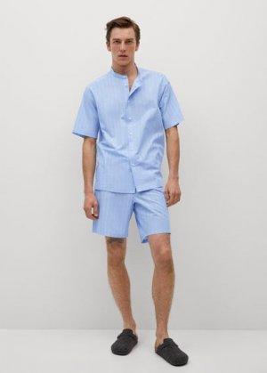 Короткие пижамные брюки - Naxos-i Mango. Цвет: синий