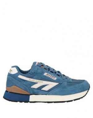 Кеды и кроссовки HI-TEC. Цвет: пастельно-синий
