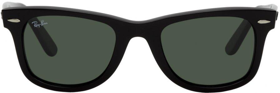 Black Original Wayfarer Classic Sunglasses Ray-Ban. Цвет: 901 50 blck