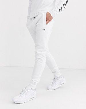 Белые джоггеры слим от комплекта -Белый Bench