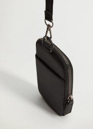 Нейлоновый чехол для телефона - Nyloncas Mango. Цвет: черный