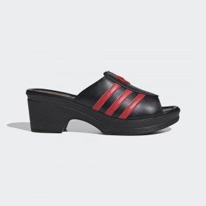 Сабо Lotta Volkova Trefoil Originals adidas. Цвет: черный