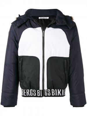 Куртка с панельным дизайном Dirk Bikkembergs. Цвет: черный