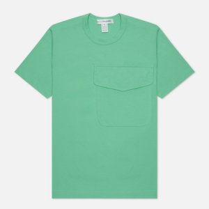 Мужская футболка Exaggerated Pocket Comme des Garcons SHIRT. Цвет: зелёный