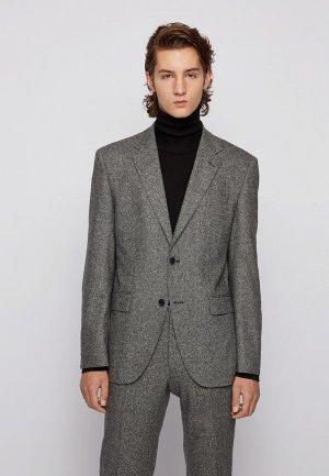 Пиджак Boss Jestor6. Цвет: серый