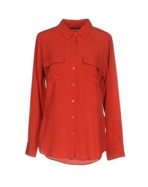 Pубашка EQUIPMENT. Цвет: коралловый