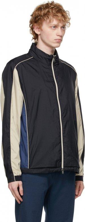 Blue Techmerino Hybrid Jacket Z Zegna. Цвет: 120 blue