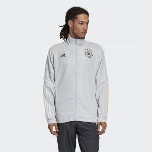 Парадная куртка сборной Германии Performance adidas. Цвет: серый