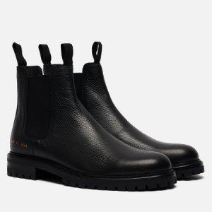 Мужские ботинки Winter Chelsea Bumpy 2287 Common Projects. Цвет: чёрный