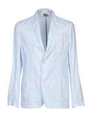 Пиджак ROŸ ROGER'S. Цвет: небесно-голубой