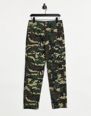 Зеленые брюки Edward-Зеленый цвет Dickies
