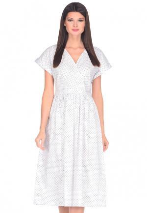 Платье Imago. Цвет: белый