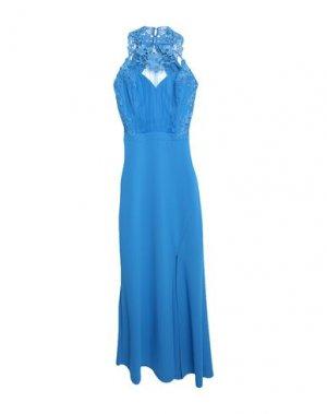 Длинное платье LIPSY. Цвет: лазурный