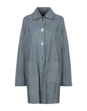 Легкое пальто BENEDETTA NOVI. Цвет: серый