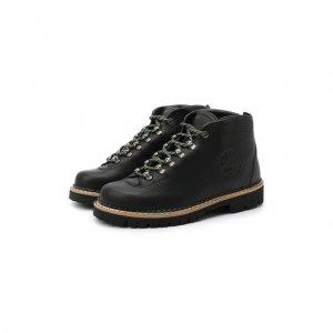 Кожаные ботинки Diemme. Цвет: чёрный