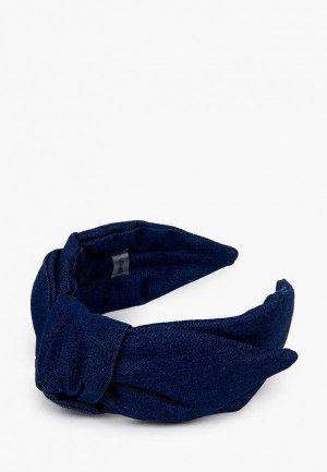 Ободок SHOVV С бантом. Цвет: синий