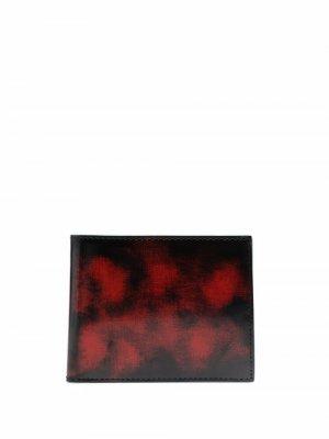 Кошелек с абстрактным принтом CamperLab. Цвет: красный