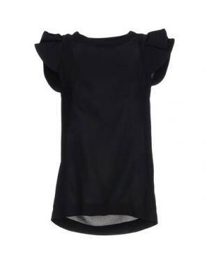 Блузка ANTONIO BERARDI. Цвет: черный