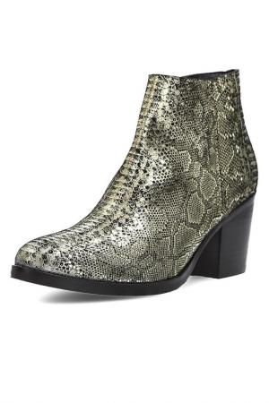 Ankle boots Apepazza. Цвет: gray, gold