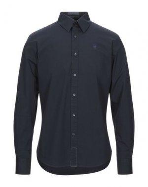 Pубашка RAW CORRECT LINE by G-STAR. Цвет: темно-синий
