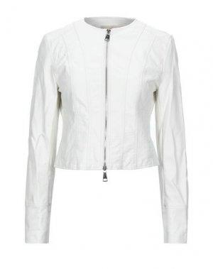 Куртка KAOS JEANS. Цвет: белый