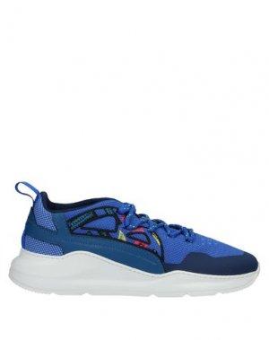 Низкие кеды и кроссовки BARRACUDA. Цвет: синий