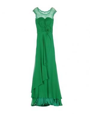 Длинное платье LEXUS. Цвет: зеленый