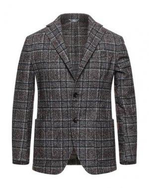Пиджак FRADI. Цвет: красно-коричневый