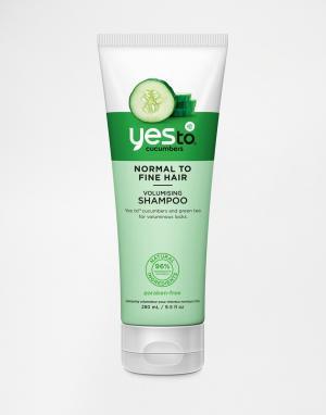 Шампунь для объема волос Yes To Cucumbers