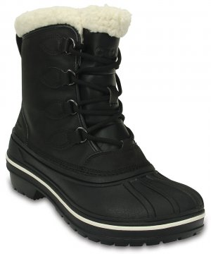 Ботинки женские CROCS Womens AllCast II Boot Black (Черный) арт. 203430. Цвет: черный