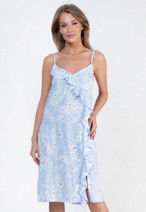 Сарафан Catherine's. Цвет: голубой