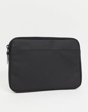 Черный чехол для 13-дюймового ноутбука 1651-Черный цвет Rains